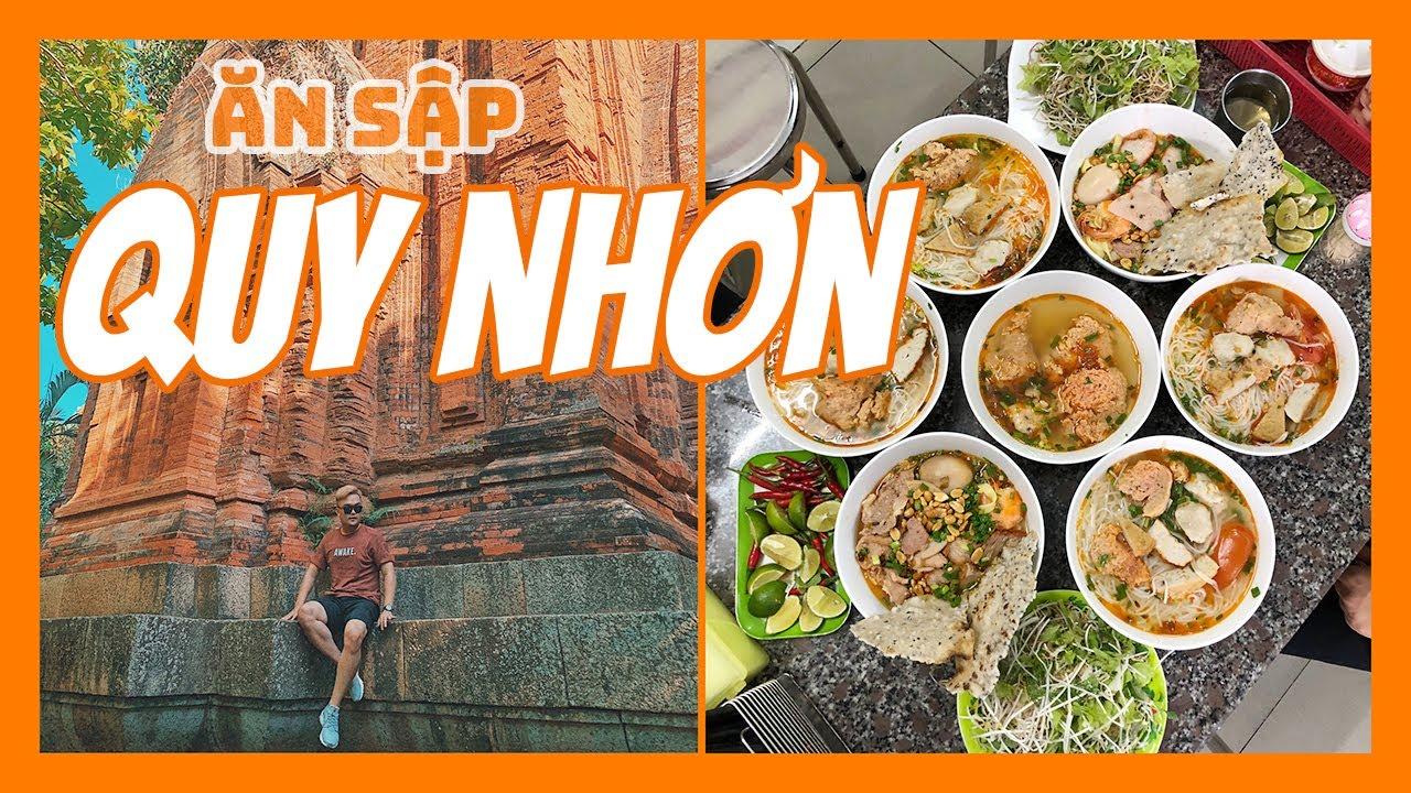 ĂN SẬP QUY NHƠN || tập 1 || Du lịch đến QUY NHƠN BÌNH ĐỊNH phải ăn gì ?