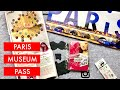 Paris Museum Pass Unboxing - Travel Information & Tips | Travel Vlog