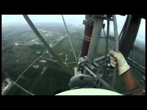 Travaux à 540 mètres du sol
