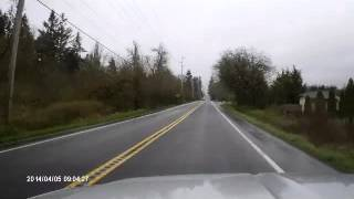 US 99 Seattle to Portland 1944 Revisited via Dashcam 040514