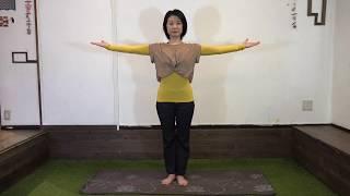 体力があまりない方にもオススメ!免疫力UPのために胸を開く&背中をほぐす運動