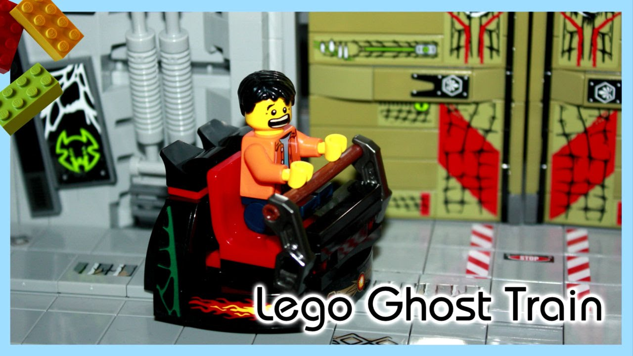 lego ghost train for halloween youtube - Lego Halloween Train