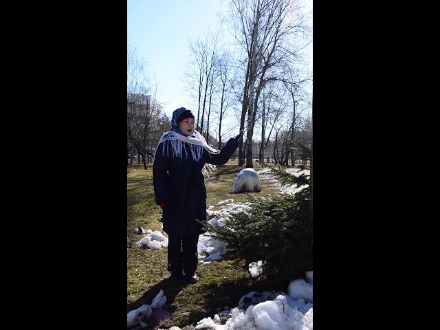 Изображение предпросмотра прочтения – КристинаБрицун читает произведение «Медведь» Г.А.Ладонщикова