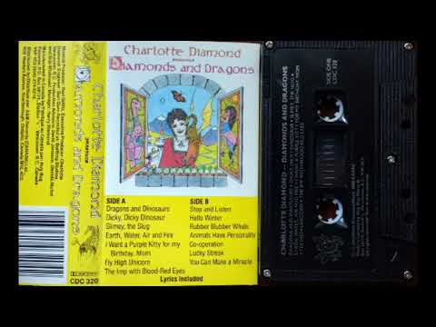 Charlotte Diamond - Diamonds And Dragons Cassette Rip Full Album