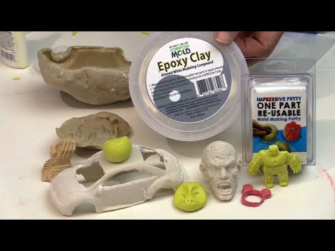ComposiMold Epoxy Clay Demonstration Epoxy Putty for Arts and Crafts