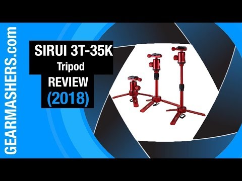 Sirui 3T-35K Table Top Tripod REVIEW (Best Vlogging Tripod For 2018)