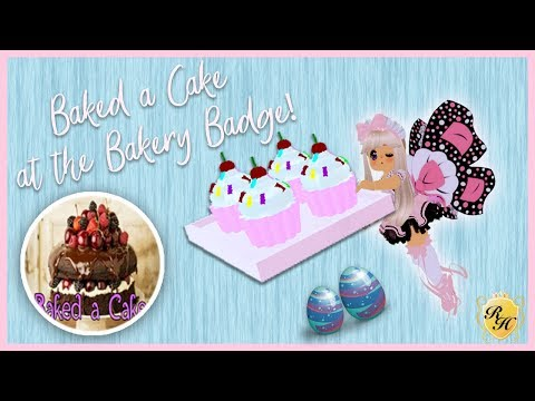 Get the Baked a Cake at the Bakery Badge in Enchantix High! Royale High Tutorial