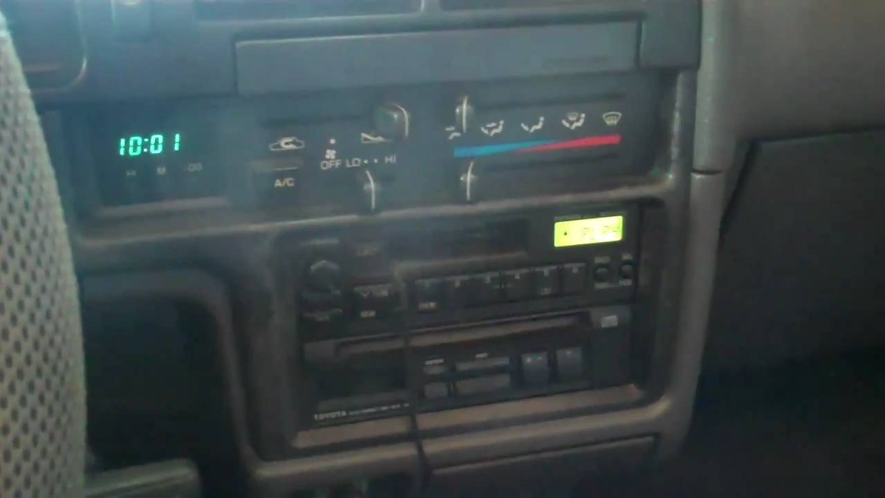 Wiring Diagram For Speakers 94 4runner 38 Images 1995 Toyota Window 1990 Stereo System Youtube