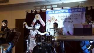 Jitul Sonowal Live in Singapore -- 2014