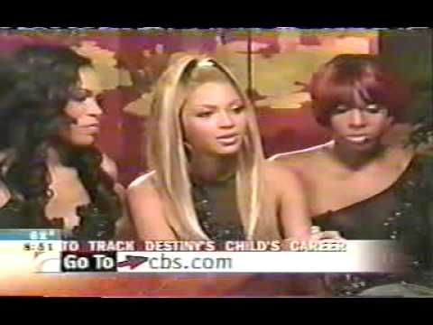 Destiny's Child on Full Early show promoting
