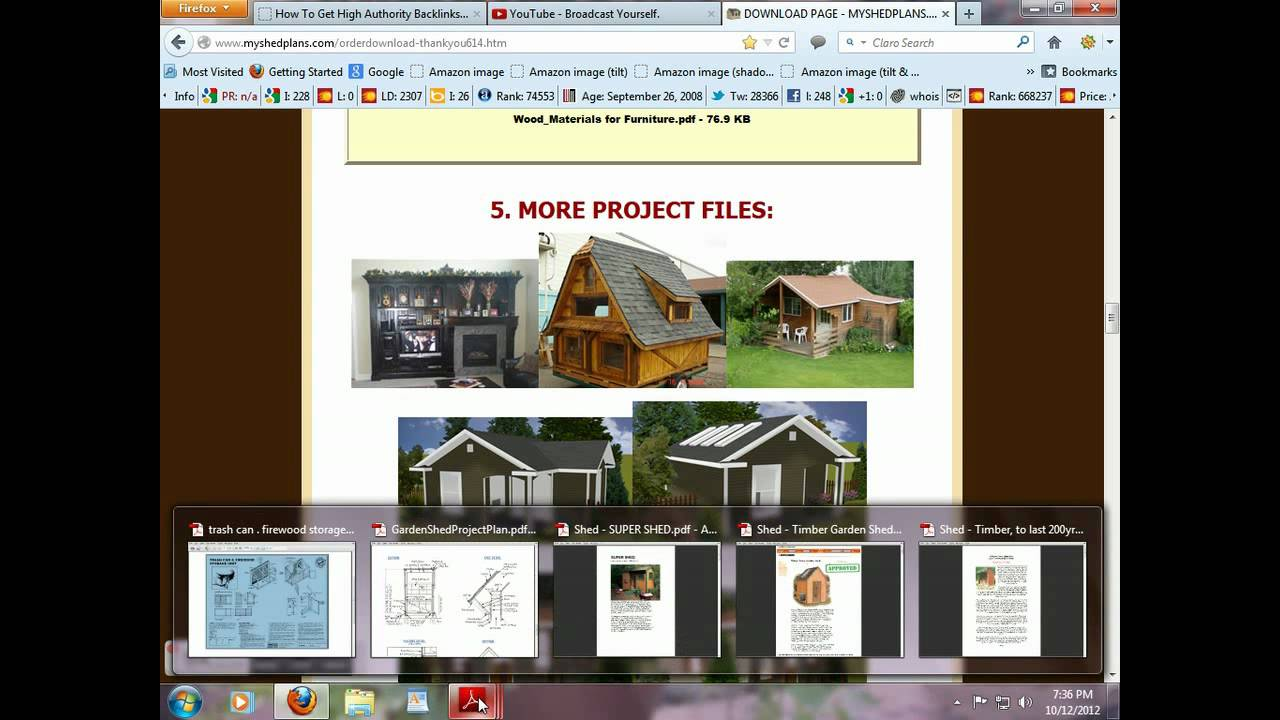 My Shed Plans Review With An Inside Look At What To Expect