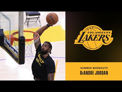 DeAndre Jordan putting in work   Lakers Summer Workouts