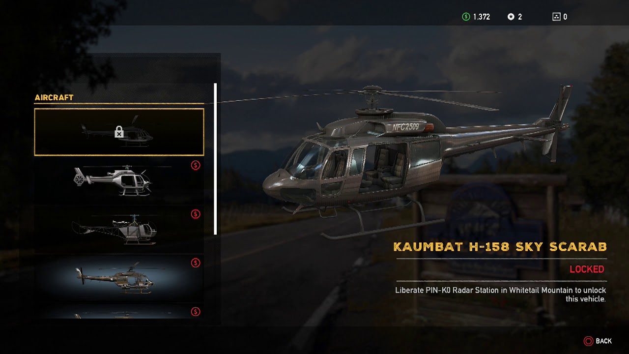 Far Cry 5 Get To Helicopter List Youtube