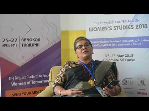 Women  studies | Appeal to the World | Dr. Vallath K, Total English Solutions (TES), India