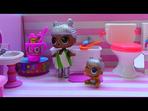 УТРО КУКЛЫ ЛОЛ! МУЛЬТИК LOL! Видео для детей MORNING DOLLS LOL!  THE CARTOON LOL!Videos for children