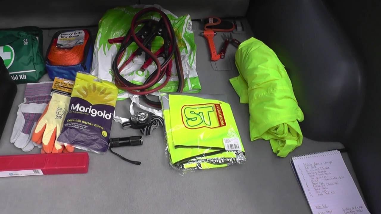 Diy Emergency Car Kit