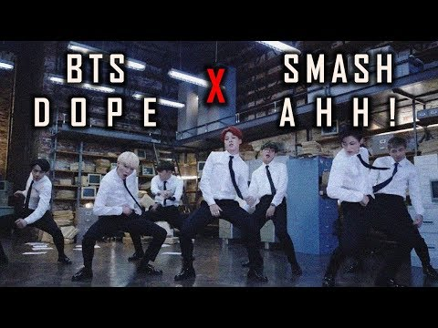MV SMASH - AHH X BTS - DOPE Cover | Indonesia