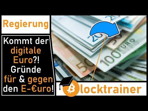Kommt der digitale #Euro? Gründe für und gegen den E-Euro!