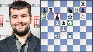 Nepo Plays Positional Masterpiece | Dortmund Sparkassen Chess Meeting