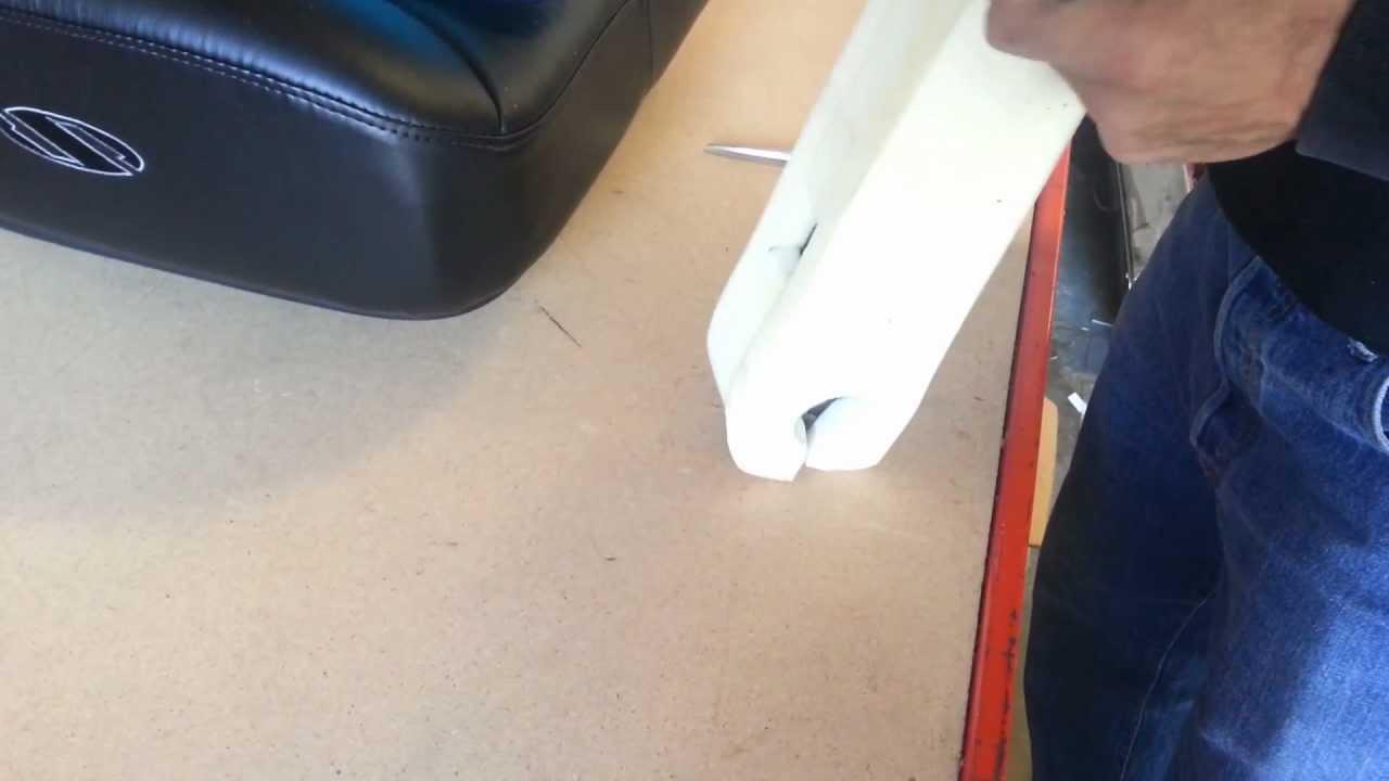 BOSTROM Full Seat Restore 6 Armrest Install - YouTube