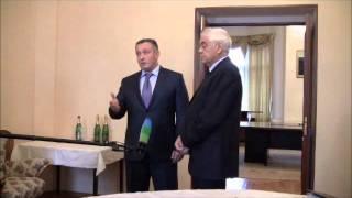 Подписание соглашения с Киргизией