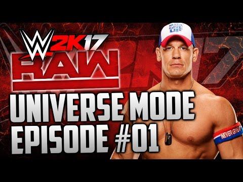 "WWE 2k17 Universe Mode: #01 ""The New Era Begins"" (""WWE 2K17 UNIVERSE MODE"" PS4/XBOX ONE)"