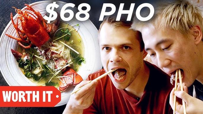 $7 Pho Vs. $68 Pho