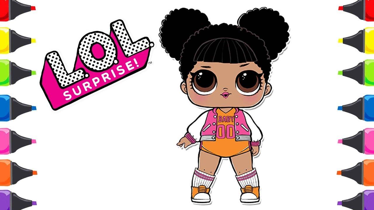 Lol Süpriz Yumurta Lol Bebek Lol Confeti Pop Boyama Renkleri