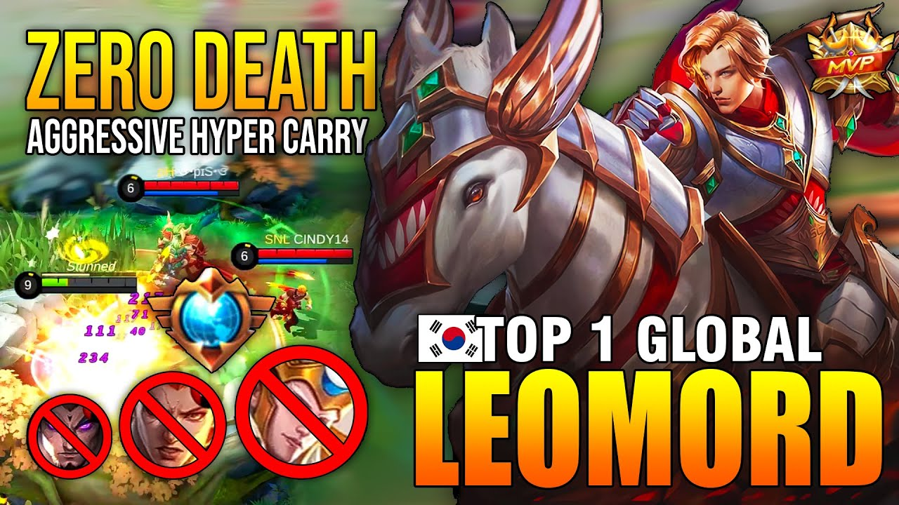 UNKILLABLE TOP 1 LEOMORD 2020 BUILD - TOP 1 GLOBAL LEOMORD ʀʏ - MOBILE LEGENDS