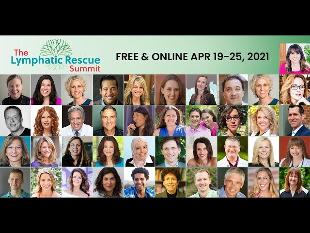 Lymphatic Rescue Summit April 19th-25h