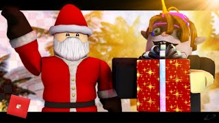 (COWCOWCHRISTMAS) Michael Bublé - Holly Jolly Christmas Roblox Music Video