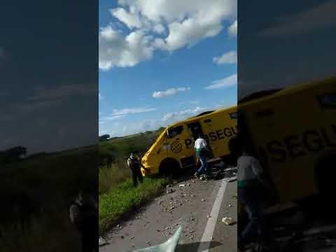 Explosão de carro forte entre Serra Caiada e Bom Jesus