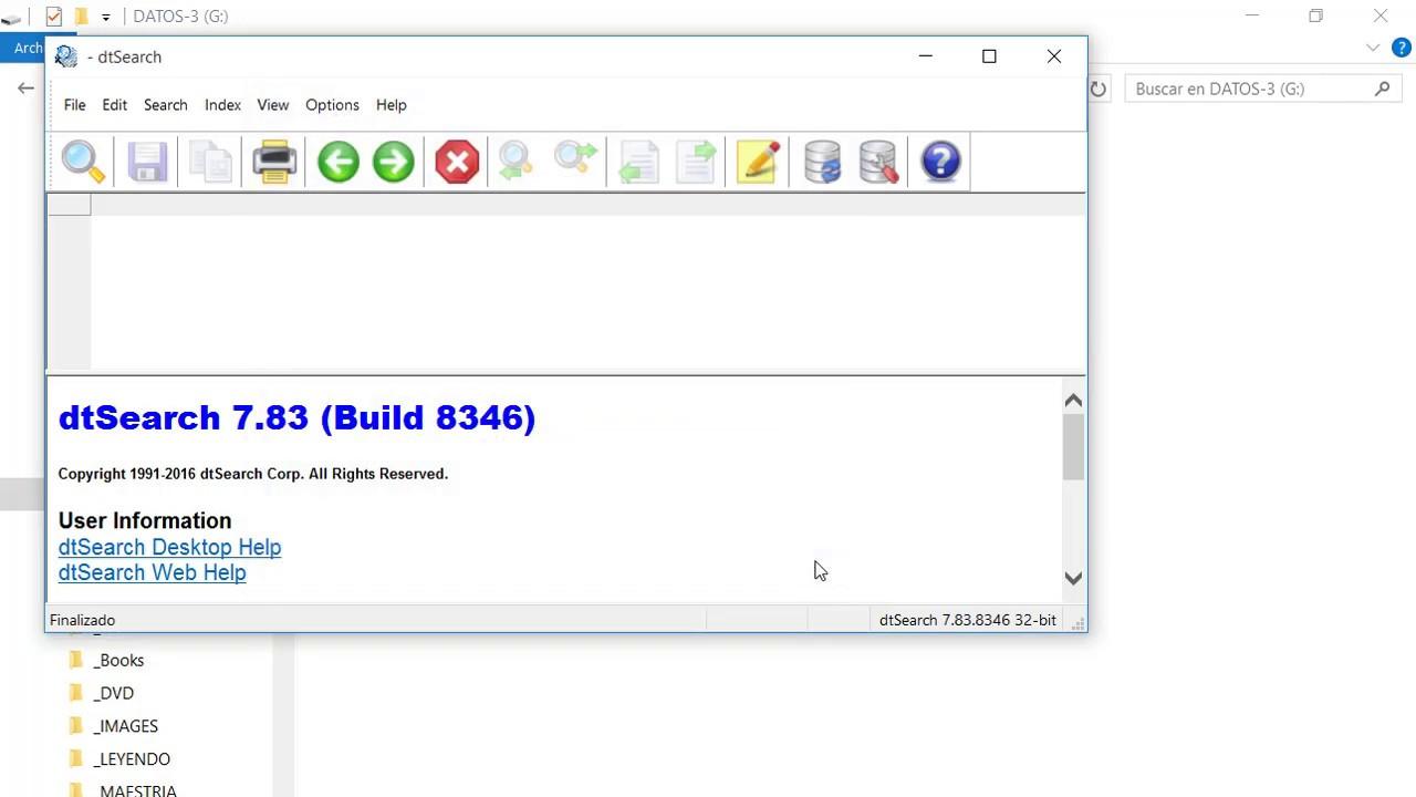 DtSearch Desktop 1 de 4