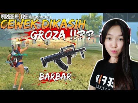 GROZA SENJATA PALING SAKIT DI FREE FIRE - FREE FIRE INDONESIA