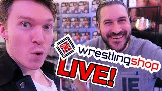 Wrestling Shop Live with WRESTLING DAZE!!