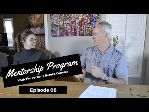 Dealing With Negative Influences - Tim Packer Mentorship Program with Brooke Cormier: Episode 8