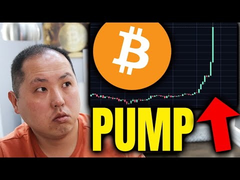 WHY BITCOIN IS PUMPING...