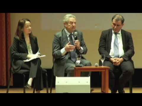 8 Sept 2009 - 4 of 9 - George Soros,  Paul Krugman, Nouriel Roubini - Economic Crisis - PEN