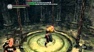 Repeat youtube video Dark Souls 'One Punch Man' Run