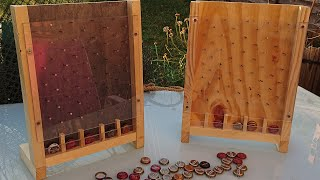 Party/Drinking Bottle Top Plinko game From Scrap Wood #014