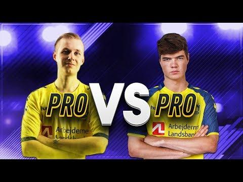 "PRO VS PRO#1 - Marcus ""Marcuzo"" Jørgensen - FIFA 17"