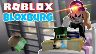 LE PIRE MASSAGE DE TOUS LES TEMPS Roblox Bienvenue à Bloxburg Gameplay