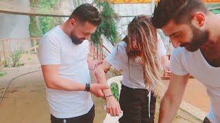 المقاطع المحذوفة من كواليس فيديو كليب أغنيتنا قدر ومكتوب ننوش وقعة عالأرض😱