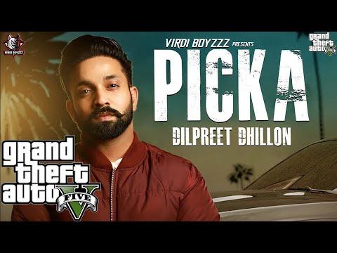 GTA 5|Dilpreet Dhillon - Picka | Aamber Dhillon | Desi Crew | Latest Punjabi Songs 2018 | Saga Music