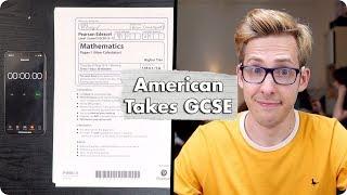 American Takes British GCSE Higher Maths!