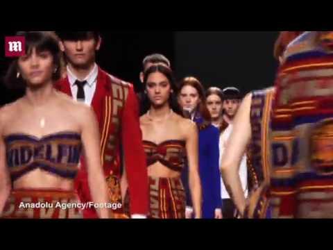 Spanish designer David Delfin's Autumn Winter 2016 collection   Daily Mail Online