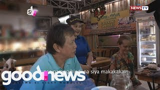 Good News: Lola, kulang ang binayad para sa pagkain sa isang kainan