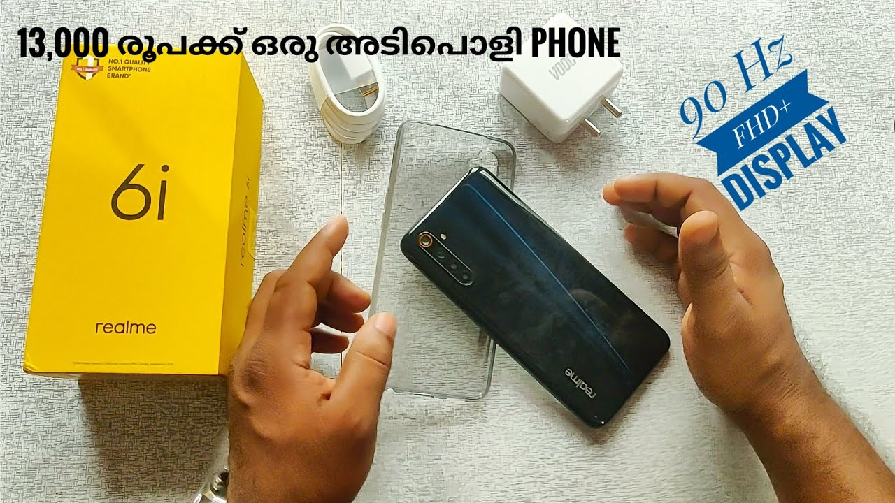 Download Realme 6i Malayalam Review | Unboxing & First Impression | 90 Hz FHD+ Display | 48 MP Camera |