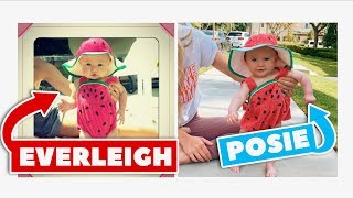 Download Posie Recreates Her Sister Everleigh's Baby pictures!!! Mp3 and Videos