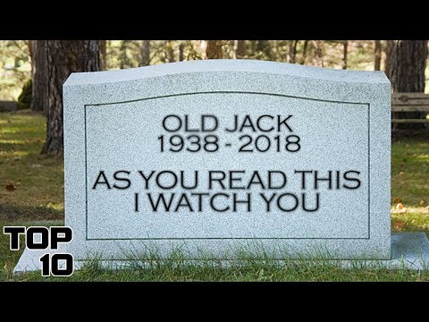 Top 10 Scary Tomb Stone Messages - Part 2